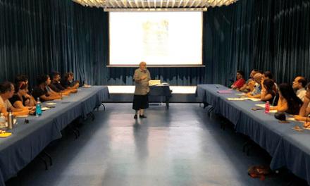 38 alumnos-as inauguran el taller de dramaturgia 'Mediterráneo: un mar de aventuras', organizado por Casa Mediterráneo