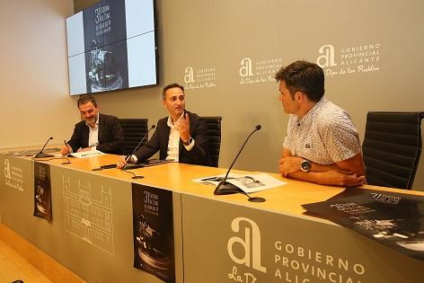 El Patronato Costa Blanca renueva su compromiso con el Festival de Cine de l'Alfàs del Pi
