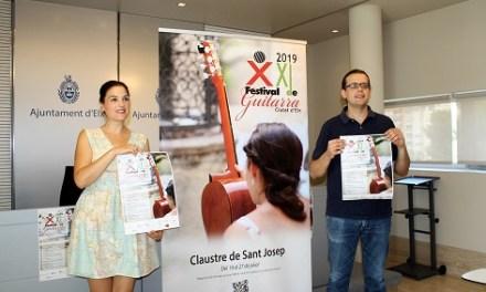 """El Claustre de Sant Josép acull una nova edició del Festival de Guitarra """"Ciutat d'Elx"""""""