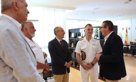 La Armada Española y el Ayuntamiento de Benidorm se implican en la organización de la segunda edición del premio de investigación naval de la Fundación Frax