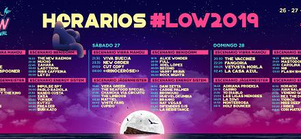 Low Festival anuncia los horarios de su undécima edición y las últimas incorporaciones al cartel
