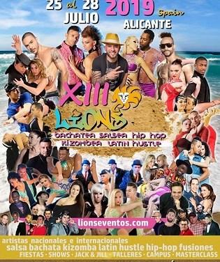 Alicante se convierte en epicentro nacional del baile con el festival, «Lions Internacional»