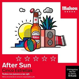 """Polock, The Parrots i Dj Monterrosa protagonitzen el """"After Sun Cinco Estrellas"""" de Mahou a la Platja de la Zenia d'Oriola Costa"""