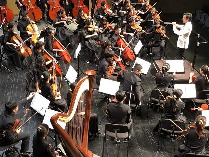 El Auditori Teulada Moraira es vist de gala per al VII Festival Internacional de Joves Orquestres (FIJO)