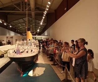 13.000 personas ha visitado la exposición «Titanic. The Reconstruction» desde su inauguración en Alicante