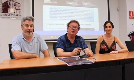 El Màster en Art Dramàtic Aplicat de la Universitat d'Alacant presenta les seues novetats per al pròxim curs