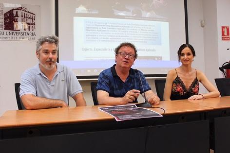El Máster en Arte Dramático Aplicado de la Universidad de Alicante presenta sus novedades para el próximo curso