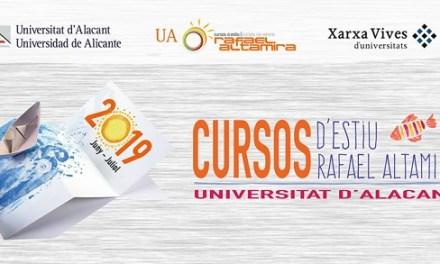 Finalitzen els Cursos d'Estiu Rafael Altamira de la UA amb tres últimes propostes