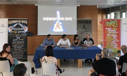 """Los Festivales """"Leyendas del Rock"""" y """"Rabolagartija"""" en Villena reciben el apoyo de la Generalitat Valenciana"""