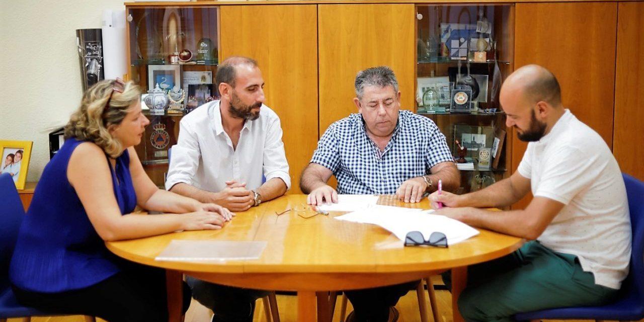 El Ayuntamiento de l'Alfàs renueva su colaboración con la Associació Tradicions de la Marina