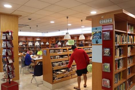 La Red de Bibliotecas de Benidorm duplica la media de visitas diarias del conjunto nacional