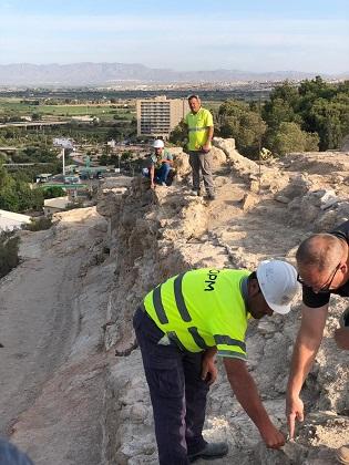 Descobreixen la muralla original del segle XIII, la torre de l'antiga església renaixentista i l'entrada a l'antiga ciutat emmurallada i castell de Guardamar