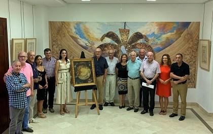 El Misteri recibe la donación de un cuadro que reproduce un antiguo cielo de la representación