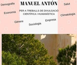 Convocatoria V Edición del Premio Manuel Antón de divulgación científica y humanística