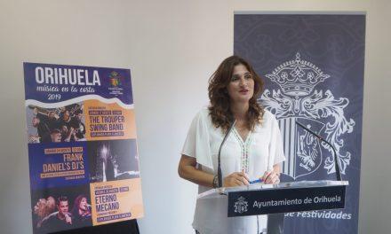 """El concierto de """"Eterno Mecano"""" cierra este viernes la edición de """"Orihuela, música en la costa 2019"""""""