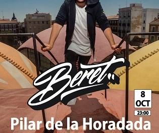 BERET en concierto en Pilar de la Horadada