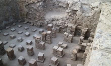 Investigadors de la Universitat d'Alacant descobreixen noves troballes del complex termal del jaciment de l'Alcúdia