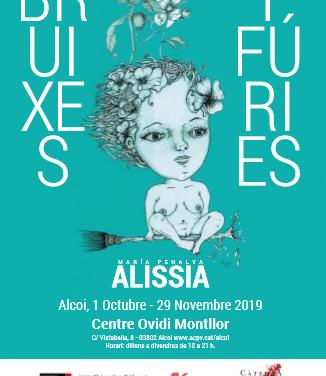 L'exposició Bruixes i Fúries de l'artista alcoiana Alissia, (María Penalva): Per què no és tot l'any Contra la Violència de Gènere?