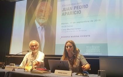 """Juan Pedro Aparicio: """"No vale que uno acumule palabras, si no hay narratividad no hay relato"""""""
