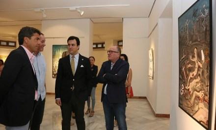 La Diputación de Alicante aúna en la exposición 'Musas: Rusia y Alicante' a artistas alicantinos y rusos