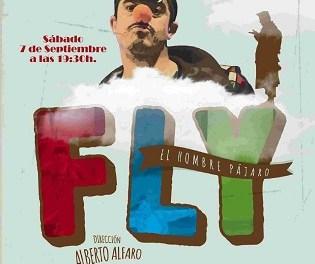 """Finestrat lleva la """"Cultura a la Fresca"""" a las urbanizaciones con la obra de teatro """"Fly. El Hombre Pájaro"""" que se representará en Golf Bahía"""