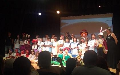 Finestrat trabaja la expresión corporal y vocal con los niños y niñas en el taller de teatro infantil que empieza el próximo lunes