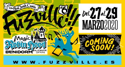 La sexta edición de Fuzzville!!! ya tiene fechas: del 27 al 29 de marzo de 2020