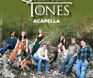 Concert de l'agrupació musical de la UA Game of Tones a Tabarca