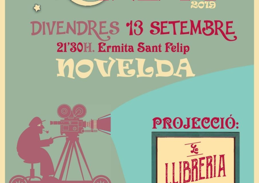 L'Ermita de Sant Felip acoge una sesión de cine a la fresca en valenciano en Novelda