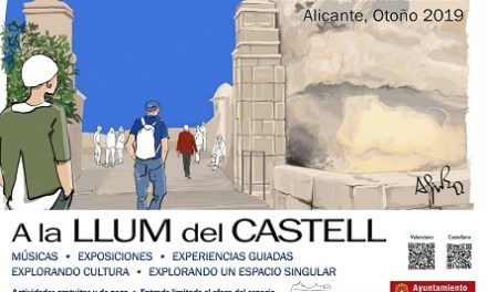 Cultura d'Alacant impulsa les activitats diürnes al Castell de Santa Bàrbara amb jazz, experiències guiades i exposicions en la seua programació tardorenca