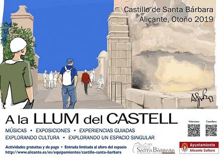 Cultura de Alicante impulsa las actividades diurnas en el Castillo de Santa Bárbara con jazz, experiencias guiadas y exposiciones en su programación otoñal