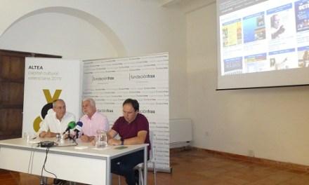 """Altea acoge la presentación de la """"Agenda Cultural virtual de la Marina Baixa y Alta"""""""