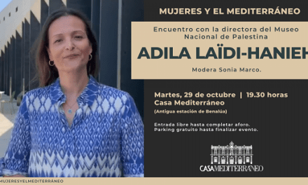 Adila Laïdi-Hanieh, directora del Museu Palestí, a Casa Mediterráneo