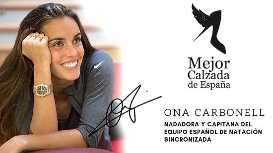 Ona Carbonell rebrà el Premi Millor Calçada d'Espanya el 12 de novembre acompanyada de Modesto Lomba i Hannibal Laguna