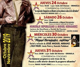 Este próximo jueves el historiador Paco Moreno Sáez hablará de la represión franquista en Alicante durante la inmediata posguerra