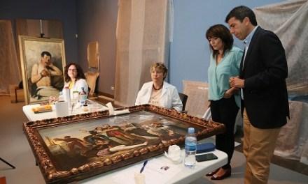 El MUBAG abrirá una de sus salas el 31 de octubre con una exposición inédita dedicada al alicantino Vicente Rodes