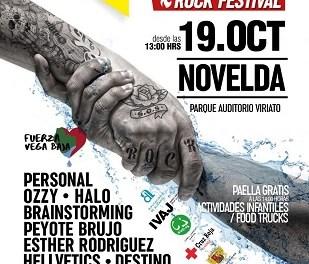 Novelda albergará el primer SOS Vega Baja Rock Festival