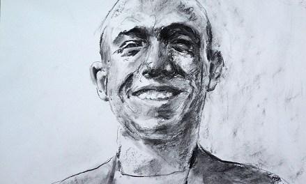 Santiago Ydáñez, premio de Pintura BMW 2018, expone «75 curiosidades de Miguel Hernández» en la Sede Ciudad de Alicante