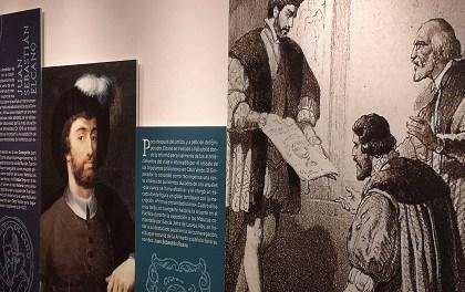 """La Regidoria de Cultura d'Alacant i la Subdelegació de Defensa inauguren l'exposició """"El viatge a la especiería de Magallanes i Elcano"""""""