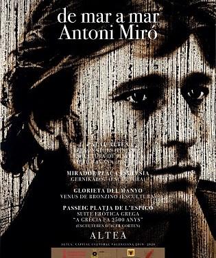 Altea acoge de nuevo a Antoni Miró y su obra