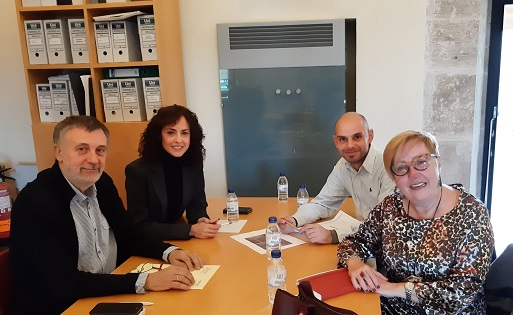 El gobierno de Cocentaina se reúne con el Subdirector General de Archivos y Bibliotecas para reclamar la recuperación del archivo notarial