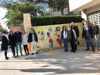 """Art urbà, color i poesia s'uneixen per a donar forma a una nova edició del museu a l'aire lliure al Campello, """"MAALEEC"""""""