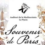 Souvenir de París, propuesta de flauta y guitarra en el Auditori de La Mediterrània