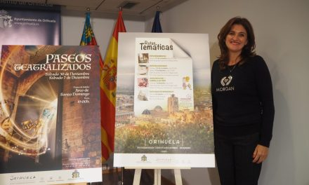 Turismo presenta la nueva edición de Paseos Teatralizados y Rutas Temáticas para conocer la historia y tradiciones de Orihuela