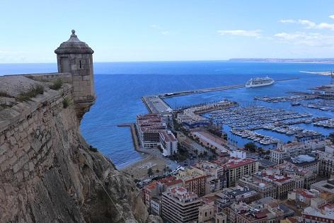 El Ayuntamiento aprueba restaurar el Baluarte de la Mina en el Castillo de Santa Bárbara de Alicante