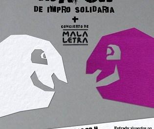 La companyia Como Diciendo Teatro organitza aquest dissabte en Clan Cabaret un xou d'improvisació per a recollir aliments en benefici de EDUCATEA