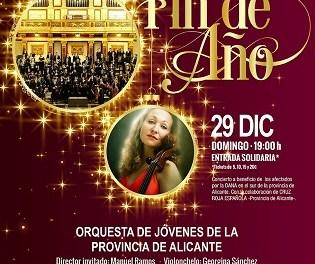 Concert de Cap d'Any de l'Orquestra de Joves de la Província d'Alacant a La Nucia