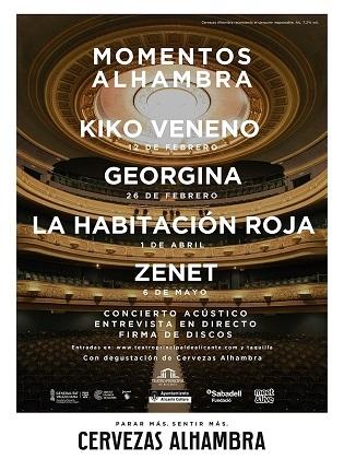 """""""Momentos Alhambra"""" torna en 2020 al Teatre Principal d'Alacant"""