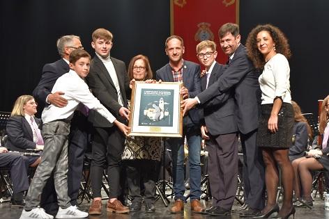 """La Societat Musical """"La Armónica"""" de Cox s'alça amb el primer premi del Certamen Nacional de Bandes Vila del Pinós"""