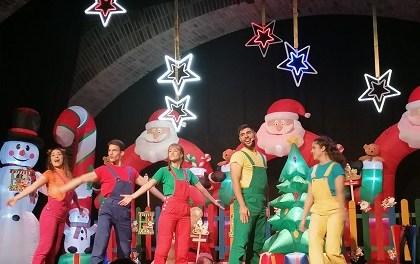 """""""Ven a mi fiesta de Navidad"""" con los Puzzle Kids en el Teatro Chapí de Villena"""